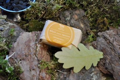 mustard soap soft packaging